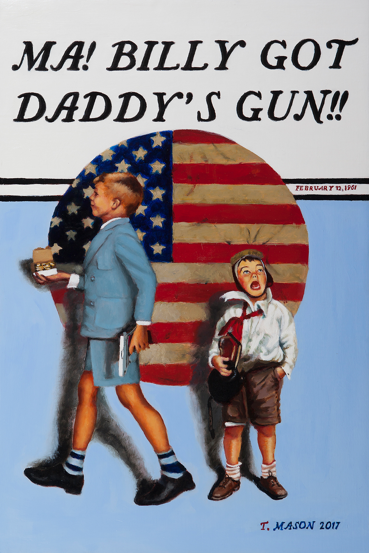 """Daddy's Gun"" by Tom Mason"
