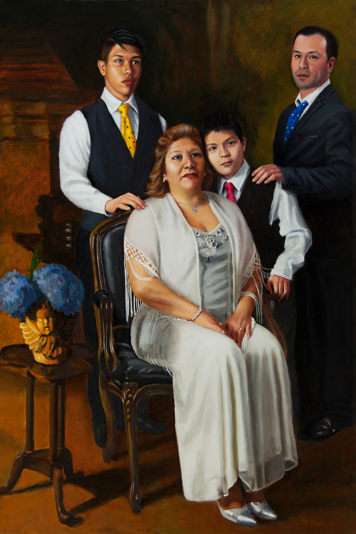 """Genaro, Lourdes Cruz and Sons"" by Tom Mason"